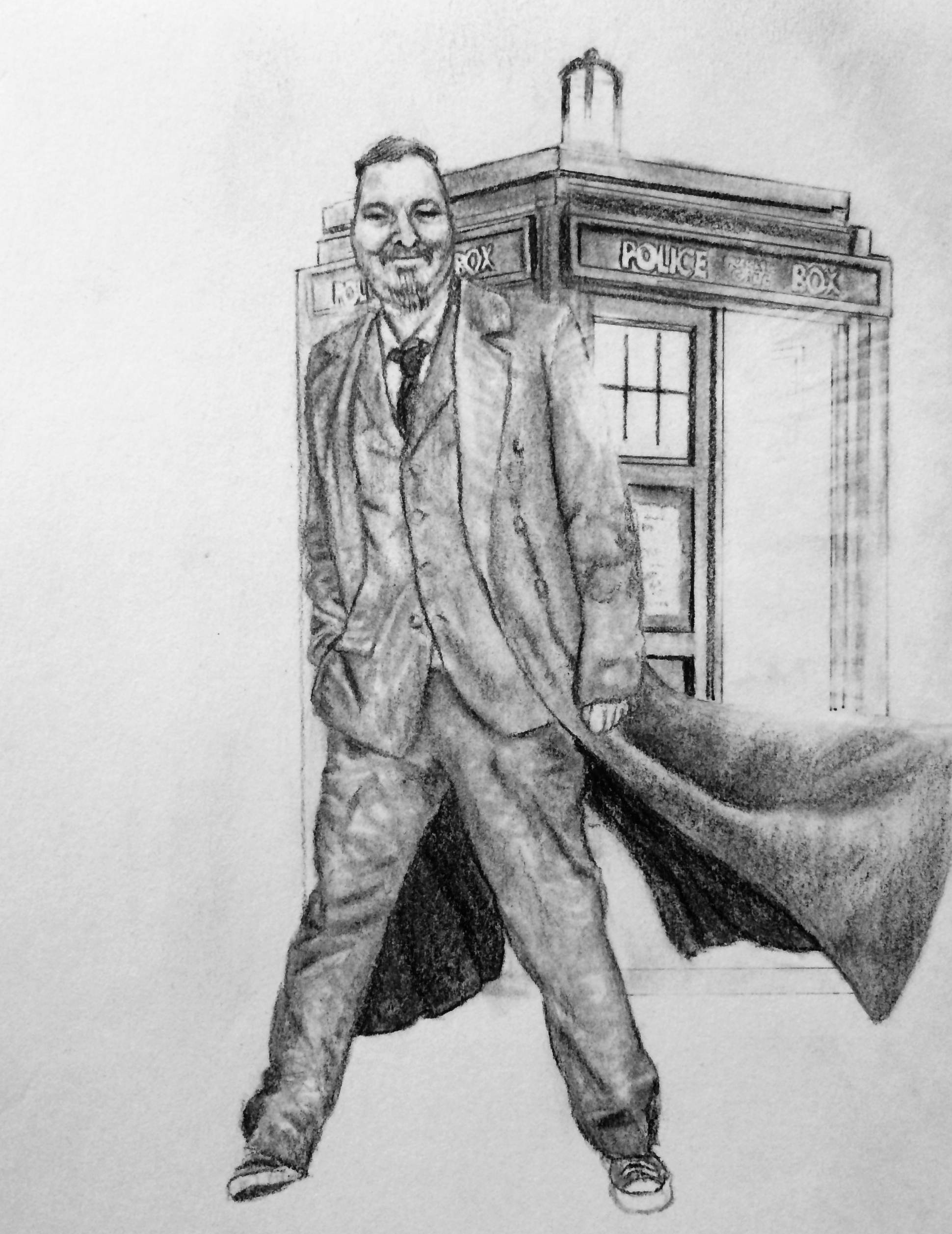 Dr Who Drawing Commission
