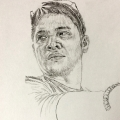 Male Portrait Drawing 3
